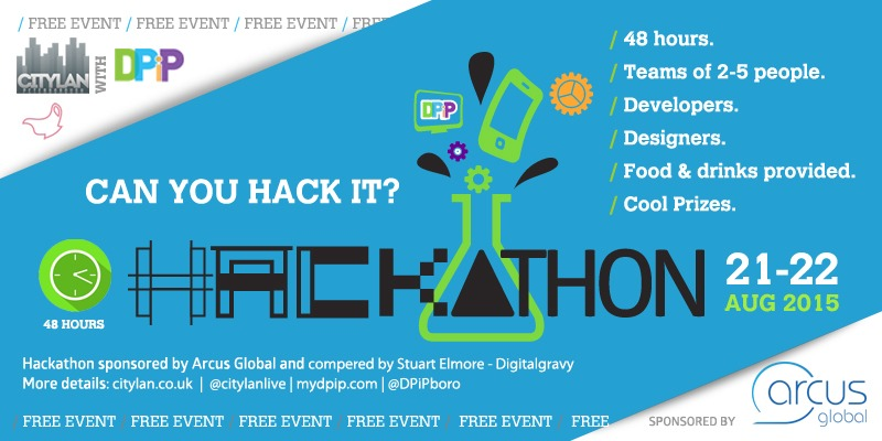 DPiP Hackathon at CityLAN 2015