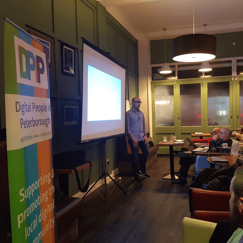 February DPiP event meet up with Anna Morrish and Jay Heal